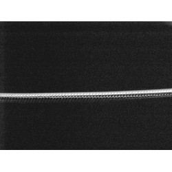18 inch - Rhodium Plated Sterling Silver Snake Chain