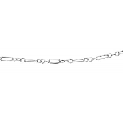 Deco Chain - 18 inches - Sterling Silver