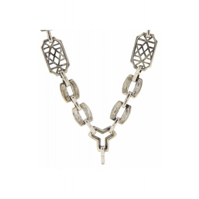 Custom Victorian Style Chain - 24 inches - Sterling Silver