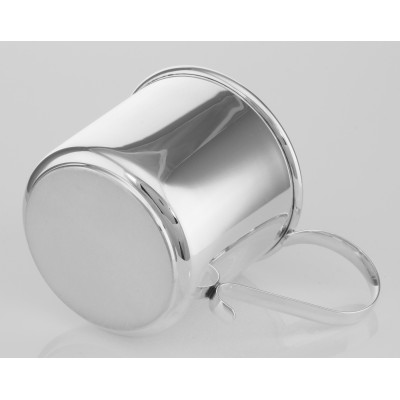 Gorgeous Sterling Silver Baby Cup - Engravable - Made in USA