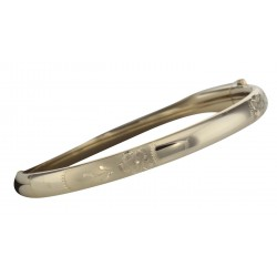 Beautiful 14kt Gold Filled Baby Bangle - Engravable - Made in USA