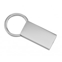 Engravable Spring loaded Keychain - Free Engraving - Nickel Plated