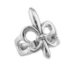 Classic Fleur de Lis Ring - Sterling Silver