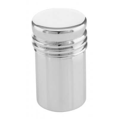Pillbox Sterling Silver Cylinder Pill Box Made in USA