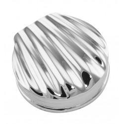 Classic Scallop Shell Sterling Silver Pillbox - Pill Box